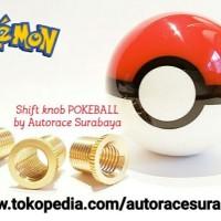 Jual Universal Shift Knob Pokemon PokeBall u2jm - 452 Murah