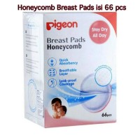 Pigeon Breast Pad / Breastpad Honeycomb / Honey comb isi 66 pcs