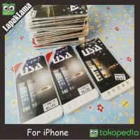 TEMPERED GLASS IPHONE 4 4S 4G 5 5S 5G 6 6+ 6 PLUS ANTI GORES IPHONE