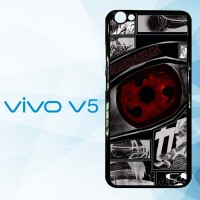 Casing Hardcase HP Vivo V5 Anime Naruto Sharingan X4954