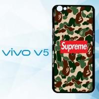 Casing Hardcase HP Vivo V5 supreme x bape X4902