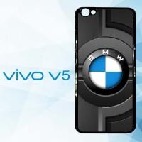 Casing Hardcase HP Vivo V5 BMW logo Car X5031