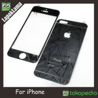 TEMPERED GLASS DIAMOND 3D IPHONE 4 4S 4G 5 5S 5G 6 6G 4.7IN WARNA 3D