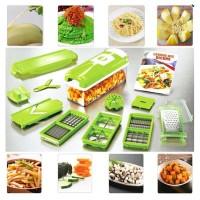 Jual Nicer Dicer Plus - Pemotong Serbaguna Alat Pemotong Sayuran Complete Murah