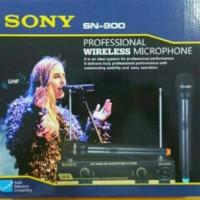 Microphone Sony SN87 Mic Double Wireless SN-87