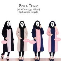 Baju Atasan Dress Batik Pakaian Wanita Baru  ZOLLA TUNIC