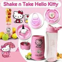 Jual [2cup] shake and take generasi 4 HELLOKITTY 2 tabung gelas HK Murah