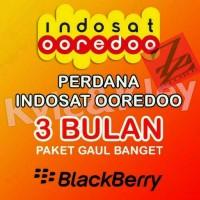 Perdana Paket Data Indosat Blackberry Gaul Banget 90Hari