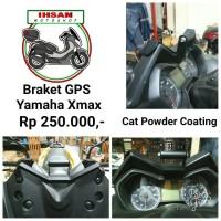 Braket GPS Yamaha Xmax Cat Powder Coating see