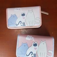Dompet Wanita Kucing Cute Cats