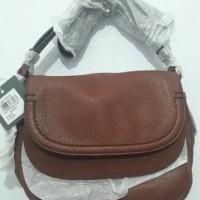 sale tas kulit fossil peyton flap branded bag original murah