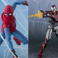SHF Spiderman Home made Suit Home coming Iron Man Mark 47 Mk47 Limited