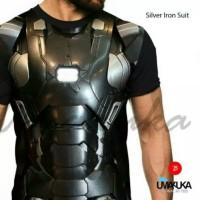 Kaos Full Print Umakuka Silver Iron Suit