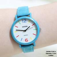 SUPER MURAH supplier jam tangan wanita guess tali kulit fossl/franckmu