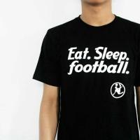 Kaos bola, t-shirt tema sepak bola cotton combed 30s