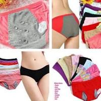 Jual Celana Dalam Menstruasi CD Mens Haid Anti Bocor Tembus All Size Termur Murah