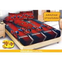 Jual Sprei / Bed Cover Kintakun uk 160x200 Motif Spiderman Murah Murah