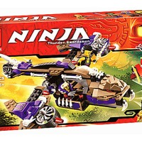 Mainan Edukatif Bricks Toys BELA 10321 Ninja Condral Copter Attack