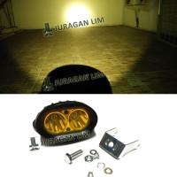 Jual Lampu LED Sorot/Tembak - OWL Cree 20W KUNING OFFROAD [OWLSTD0603] Murah