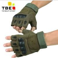 Jual SARUNG TANGAN Half FINGER Tactical ARMY Paintball Limited Murah