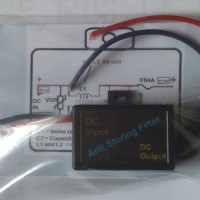 DC Anti storing Filter for Audio mobil