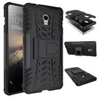 Casing Rugged Armor Lenovo Vibe P1 Turbo Kick Stand Soft Case Cover
