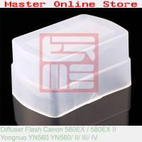 Omnibounce Flash Diffuser for Canon 580EX/II YN-560 YN560/ II/ III/ IV