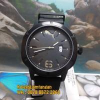 JAM TANGAN PRIA PUMA PU104261002 NEVERMIND BLACK GOLD ORIGINAL