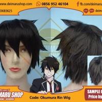 Rambut Kostum Wig Anime Manga Okumura Rin