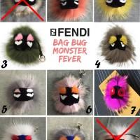 Jual Gantungan kunci - tas FENDI Monster Fever Bag Bug /Karlito/Fox fur ORI Murah
