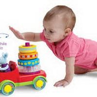 mainan anak kreatiif Taf Toys Stacker Truck
