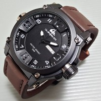 Jam Tangan Pria Quiksilver Leather Surf