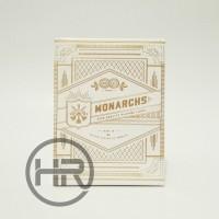 [Kartu Remi/Poker] Theory11 Playing Cards - White Gold Monarchs