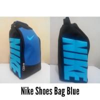 Tas Sepatu Nike Biru untuk Futsal/Basket/Running dll