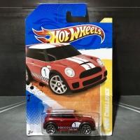 Hot Wheels Mini Cooper S Challenge Red 2011 New Models AKTA