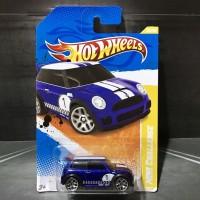 Hot Wheels Mini Cooper S Challenge Blue 2011 New Models AKTA