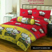 Sprei Lady rose / sprei kasur 160x200 / Sprei Hello kitty