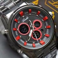 Jual jam tangan pria water resist original bergaransi mirage bonia Murah