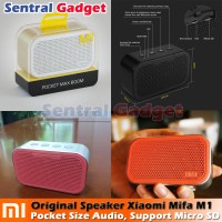 Speaker Bluetooth Xiaomi MiFa M1 Portable Speaker Cube + Micro SD Slot