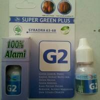 Super Green Plus G2 Obat Herbal Gatal Kulit/panu/eksim basah, kering