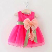 BAJU PESTA BAYI PEREMPUAN DRESS GAUN PARTY BABY GIRL