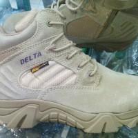 Promo Exlusive Sepatu Delta 6 Inci Warna Tan/hitam