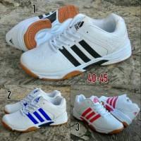 Impor!! Sepatu Adidas Badminton, Tenis, Volly Dan Santai
