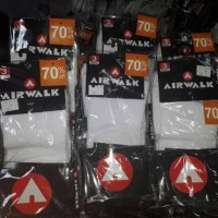 Kaos Kaki original store Airwalk / Diadora isi 3 pasang/pax