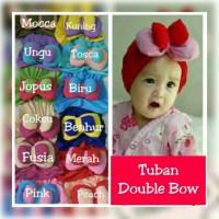 Jual Turban Double Bow / Turban anak bayi Murah Bagus Murah