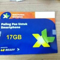 Kartu Perdana Internet XL 17GB Kuota 17 GB