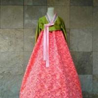 Jual hanbok baju adat / tradisional korea import hambok hanbook handbok Murah