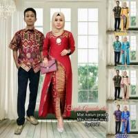 harga Batik Couple Sarimbit Seragam Pesta Hijab Baju Muslim Gamis Long Dress Tokopedia.com