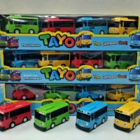 bus tayo pull back (4pcs) /tayo the little bus