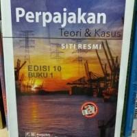 PERPAJAKAN teori kasus karya SITI RESMI.edisi terbaru.
